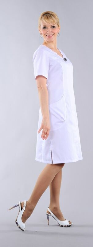 Доктор Стиль Халат медицинский женский Милана (лл2125) - фото 1
