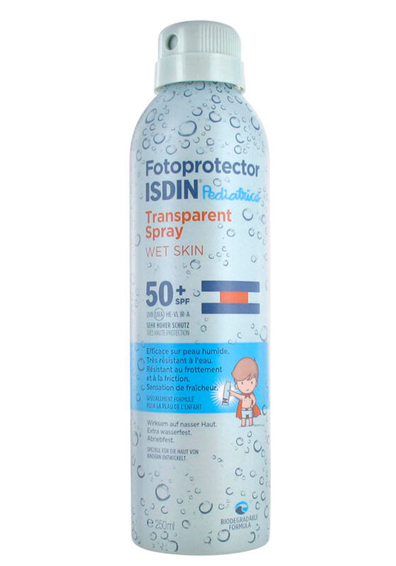 ISDIN Солнцезащитный спрей SPF 50+ для детей Fotoprotector Pediatrics / Transparent Spray, 250 мл - фото 1