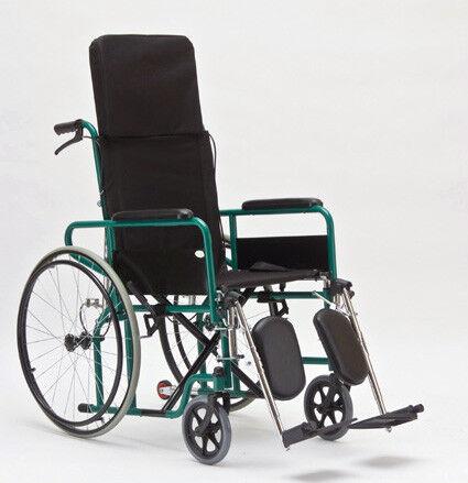 Прокат медицинских товаров Мега-Оптим Инвалидная коляска с поддержкой голени FS902GC - фото 1
