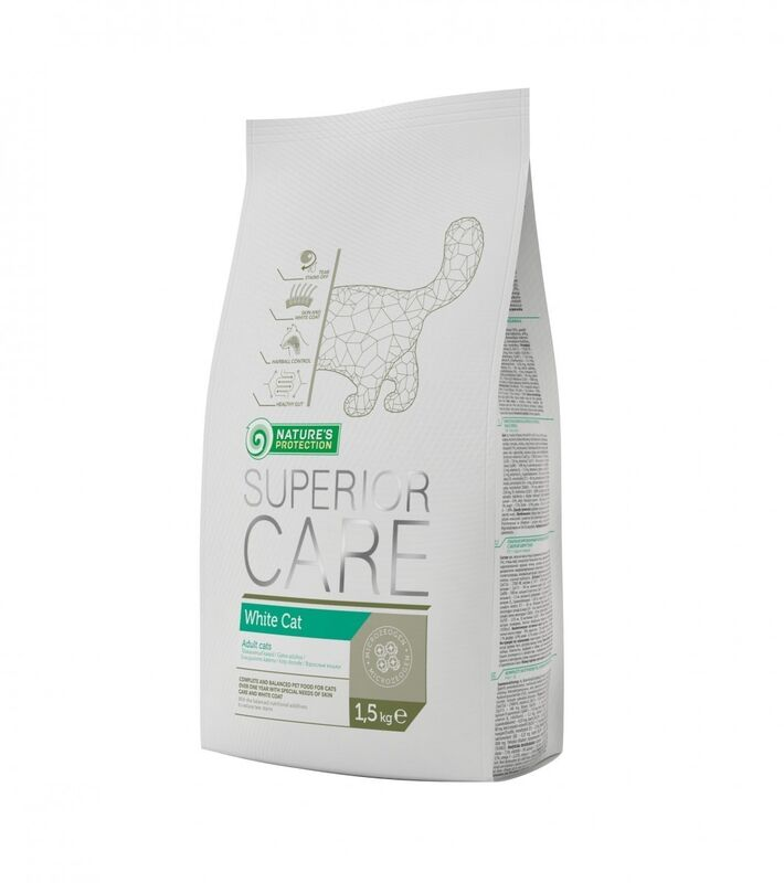 Natures Protection Superior Care White Cat - фото 1