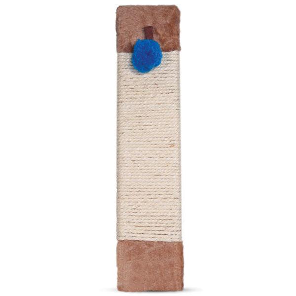 Когтеточка Triol Когтеточка из сизаля «Доска» с помпоном - фото 1