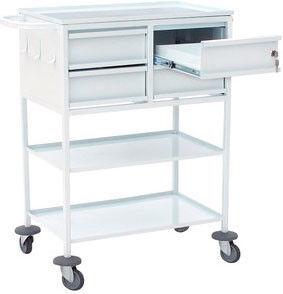 Вика-Двина Стол-тележка с 4-мя ящиками для перевязочной - фото 1
