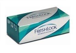 Контактные линзы CIBA Vision Freshlook Dimensions (без коррекции) (Caribbean Aqua) - фото 1