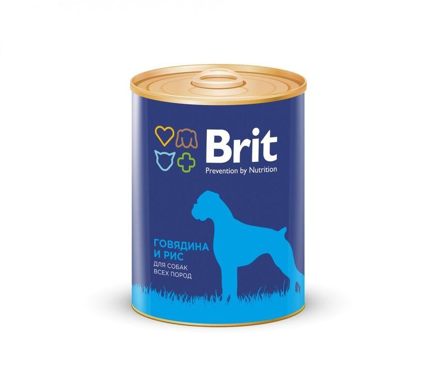 Brit Premium Beef and Rice - фото 1