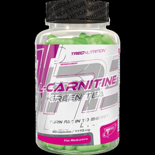 Trec Nutrition L-Carnitine+Green Tea 90 капс - фото 1