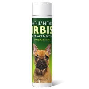 IRBIS Биошампунь антипаразитарный FORTE для щенков и собак 250 мл. - фото 1