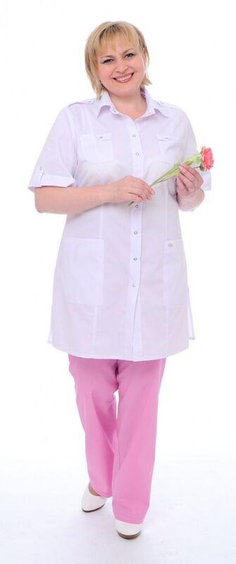 Доктор Стиль Блуза медицинская женская Сафари (лл2229) - фото 5