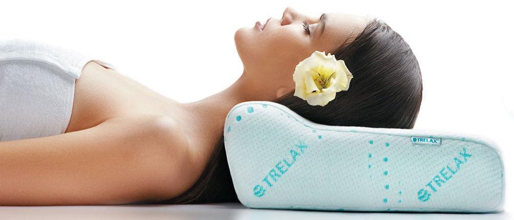 Подушка Trelax Ортопедическая подушка под голову OPTIMA - фото 1