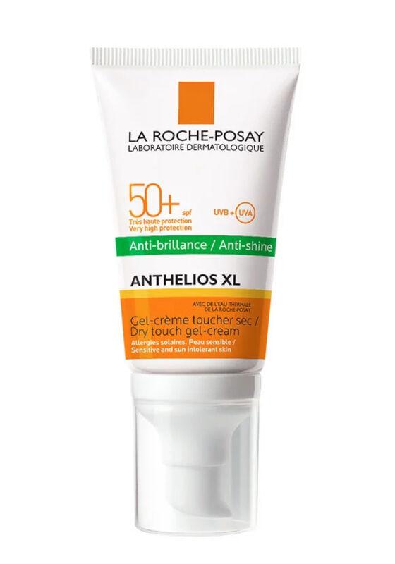 La-Roche-Posay Солнцезащитный гель-крем SPF 50+ для лица Anthelios XL матирующий 50 мл - фото 1