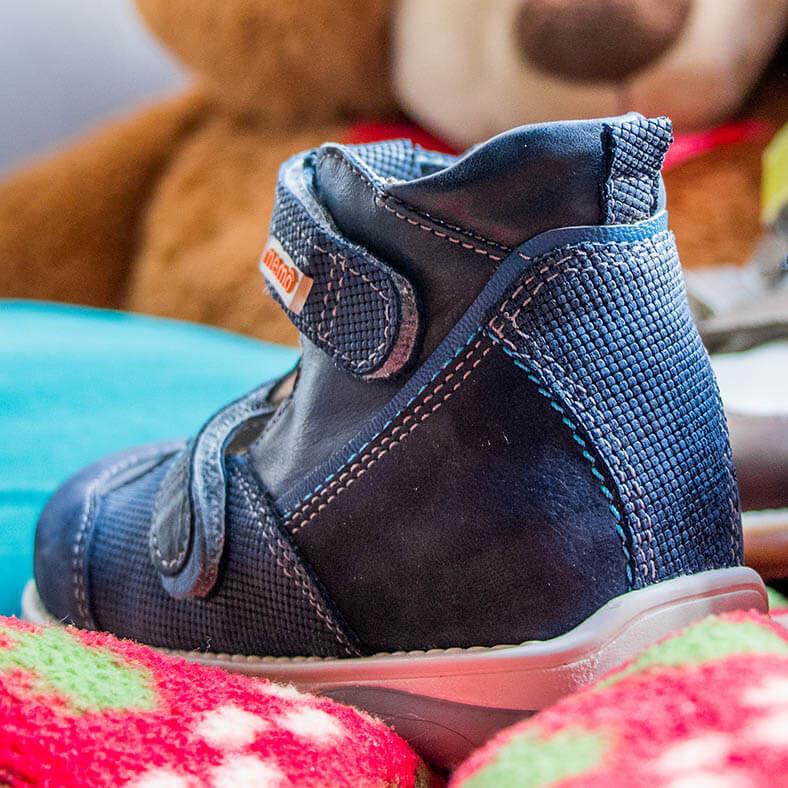 Memo Детские ортопедические туфли Torino 3DA - фото 2