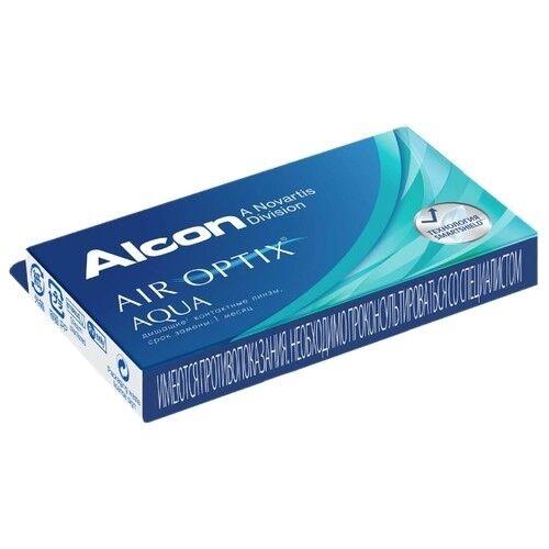 Контактные линзы Air Optix (Alcon) Aqua (6 линз) - фото 4