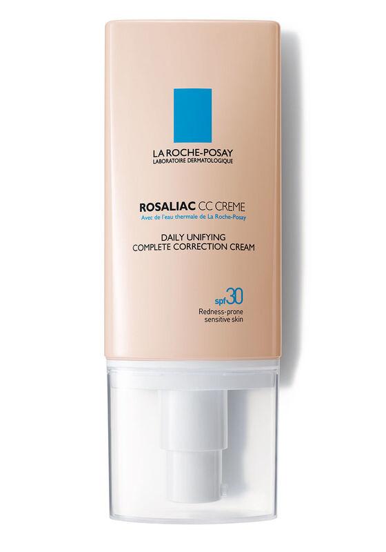 La-Roche-Posay ROSALIAC CC CREME корректирующий уход с тональным эффектом для кожи, склонной к покраснениям SPF 30, оттенок универсальный, 50 мл - фото 1
