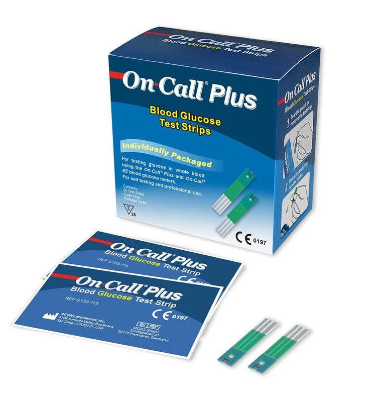 Глюкометр On-Call Plus 50 - фото 1