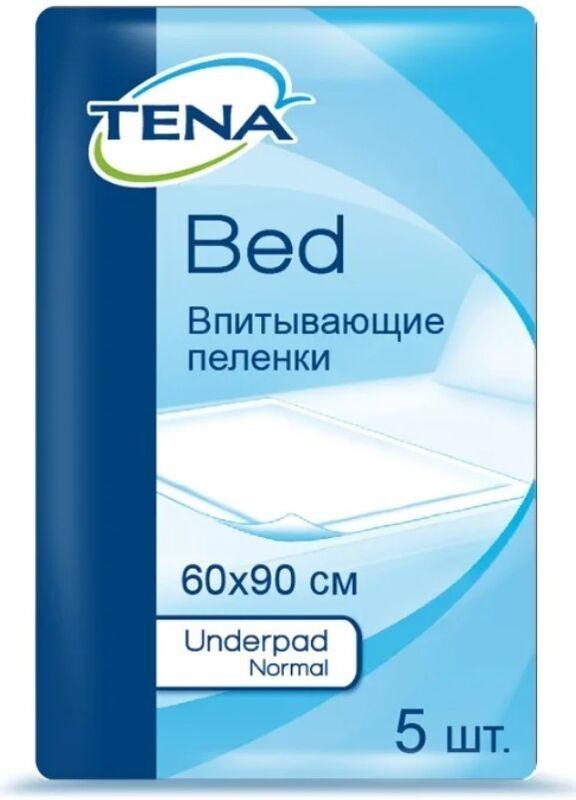 Tena Простыни (пеленки) впитывающие Bed Normal 60х90 см, 5 шт - фото 1