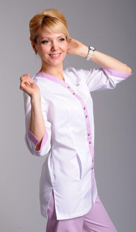 Доктор Стиль Блуза медицинская женская Капель (лу1222) - фото 1