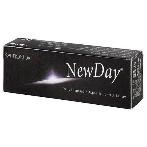 Контактные линзы Sauflon New Day (30 линз) - фото 1