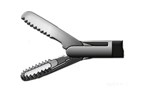 Медицинское оборудование ППП Зажим ложкообразный Л-0040 - фото 1