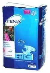 Tena Подгузники для взрослых Slip Plus, размер 3 (L), 10 штук - фото 2