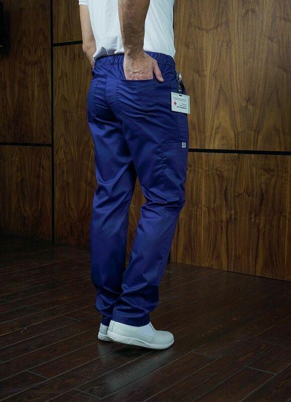 Доктор Стиль Медицинские брюки «Софт М» темно-синие Брю 3410.19 - фото 4