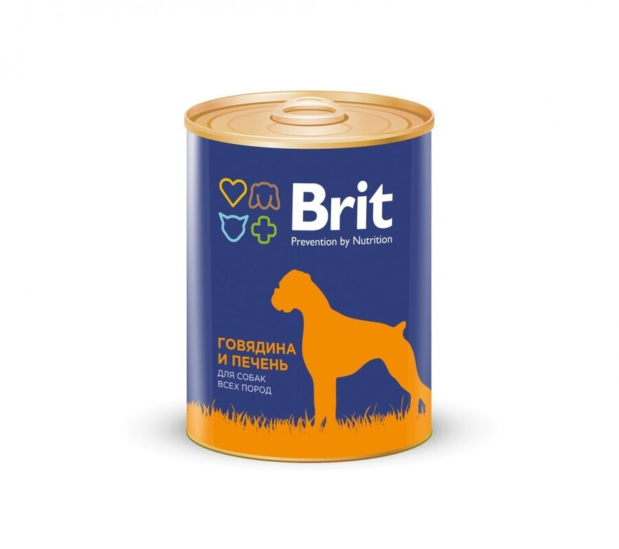 Brit Premium Red Meat and Liver 850гр. х 6 шт. - фото 1