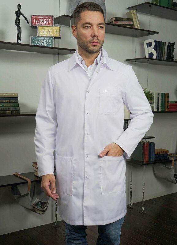 Доктор Стиль Медицинский халат «Сиэт» ЛУ 1112.01 - фото 3