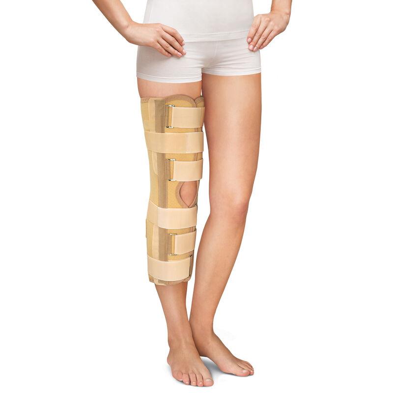 Польза Бандаж фиксирующий коленный усиленный (тутор), 0808 - фото 1