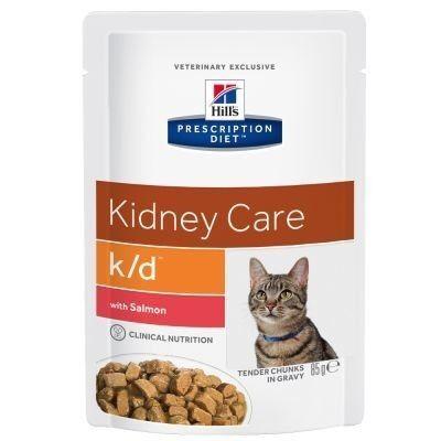 Hill's PD k/d Kidney Care Salmon 85 гр. х 12 шт. - фото 1