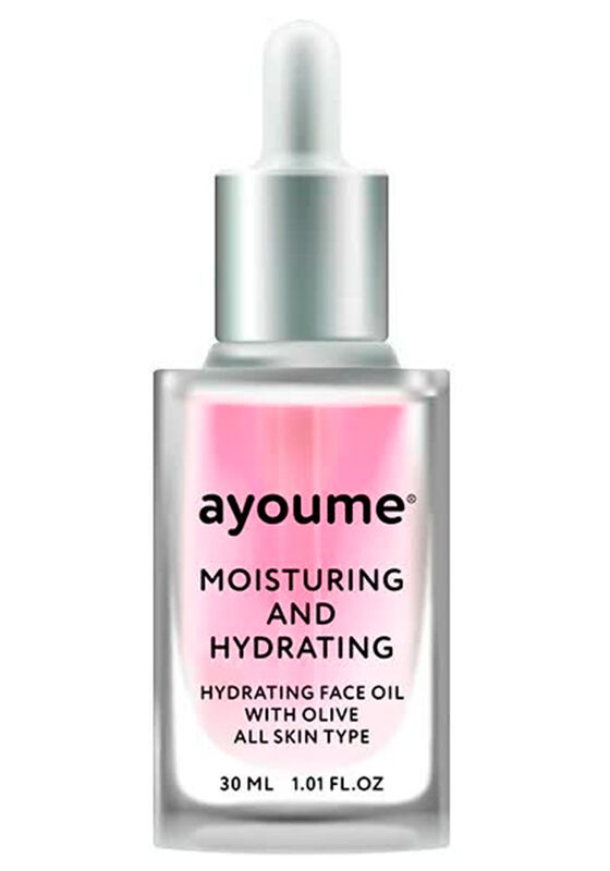 Ayoume Масло для лица увлажняющее Moisturing-&-Hydrating Face oil with Olive 30мл - фото 1
