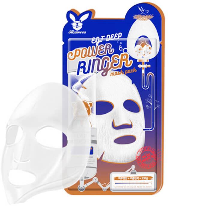 Elizavecca Тканевая маска EGF Deep Power Ringer Mask Pack - фото 1