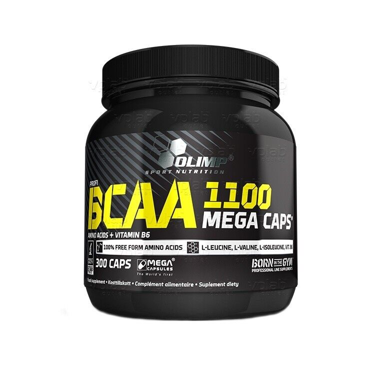 Olimp BCAA 1100 Mega сaps,300 капс. - фото 1