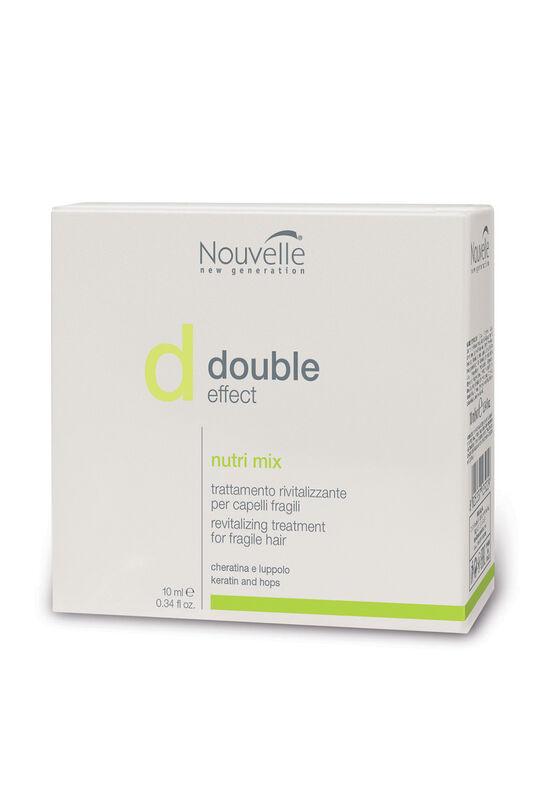 Nouvelle Лосьон для укрепления волос DOUBLE EFFECT NUTRI MIX 10*10 мл - фото 1