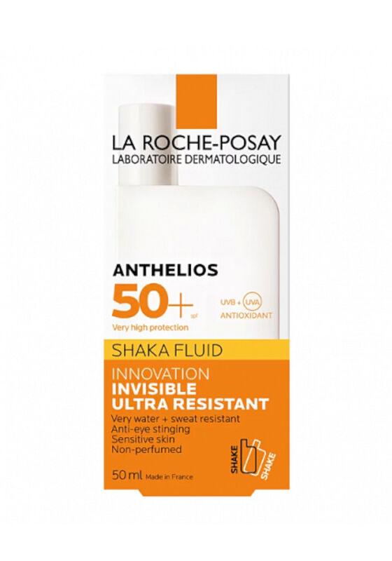 La-Roche-Posay Флюид против солнца для лица и кожи вокруг глаз Anthelios SHAKA SPF 50+ 50 мл - фото 1