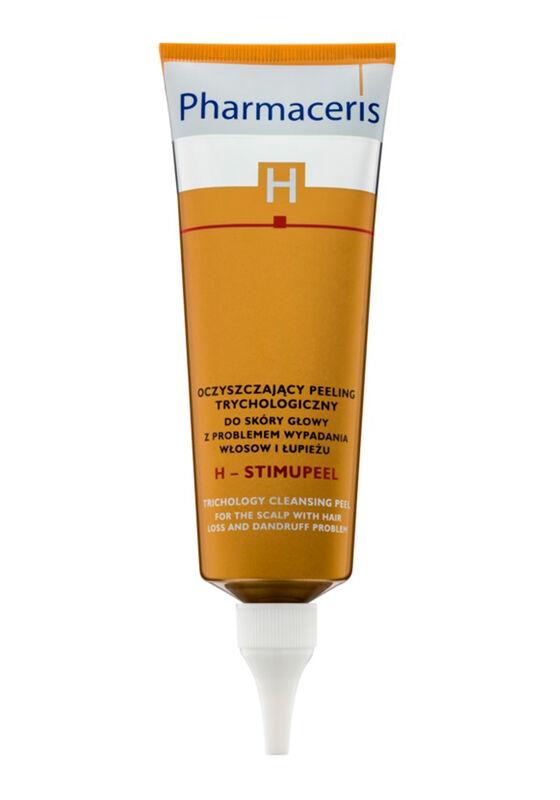 Pharmaceris Пилинг очищающий для кожи головы с проблемами выпадения волос и перхоти H-Stimupeel, 125мл - фото 1