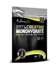 BioTech 100 Creatine Monohydrate 500 packet - фото 1