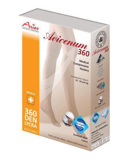 Aries Колготки с закрытым носком А360АТ большая ластовица - фото 1