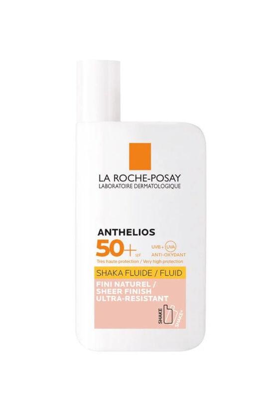 La-Roche-Posay Флюид против солнца для лица и кожи вокруг глаз тонирующий Anthelios SHAKA SPF 50+ 50 мл - фото 1