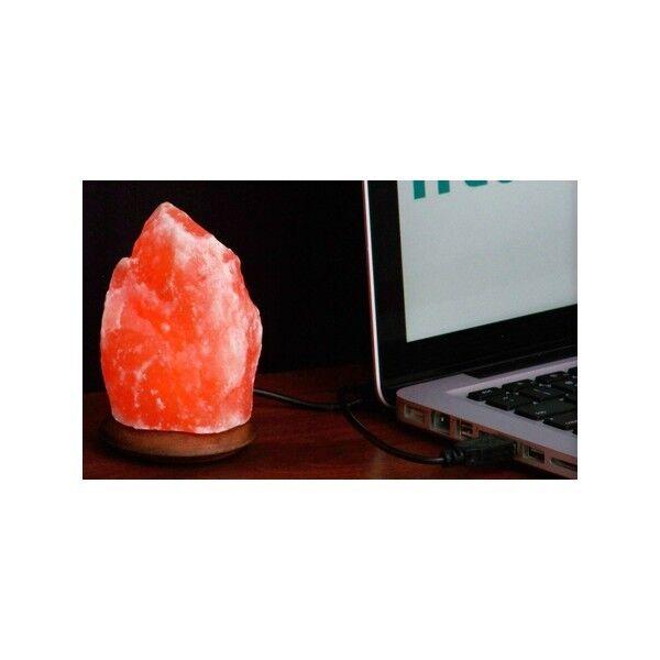 Zenet Солевая USB лампа Скала - фото 2
