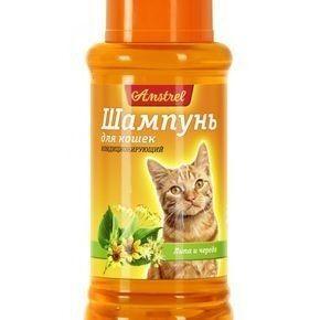 Amstrel Шампунь для кошек кондиционирующий с липой и чередой, шт 250 мл - фото 1