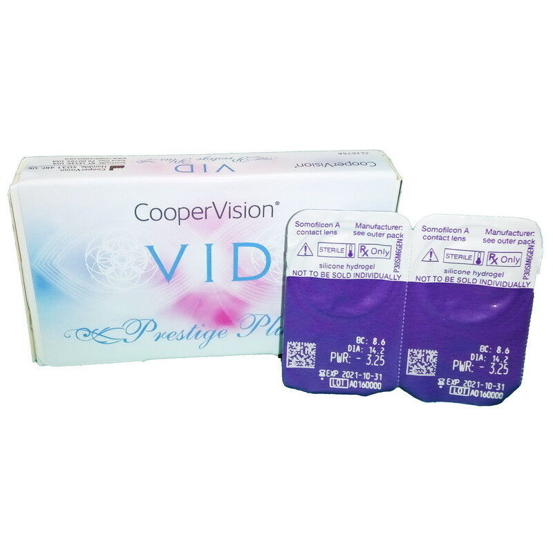 Контактные линзы Cooper Vision VID Prestige Plus - фото 2