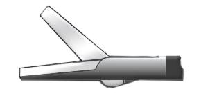 Медицинское оборудование ППП Ножницы прямые однобраншевые Л-0047 - фото 1