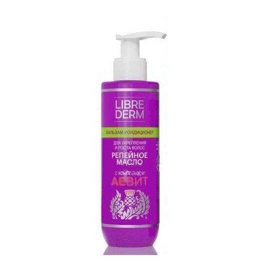 LIBREDERM Бальзам для волос репейное масло аевит для укрепления и роста волос, 200 мл - фото 1