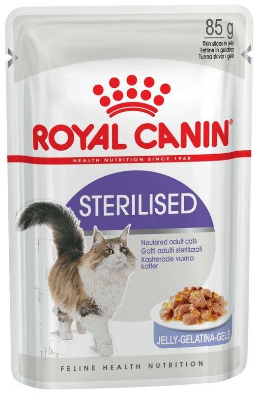 Royal Canin Sterilised in jelly (в желе) 85гр. х 12 шт. - фото 1