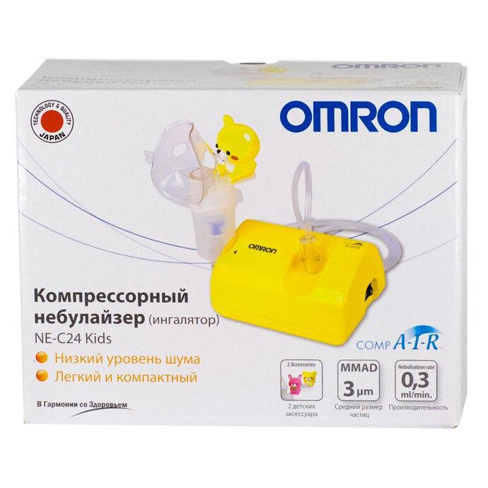 Ингалятор Omron Ингалятор компрессорный NE-C801KD - фото 2