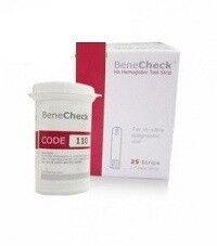 Система контроля крови General Life Biotechnology Тест-полоски для определения уровня Гемоглобина в крови BeneCheck - фото 1