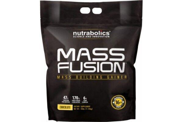 Nutrabolics Mass Fusion Gainer, 16lb (7260g) - фото 1