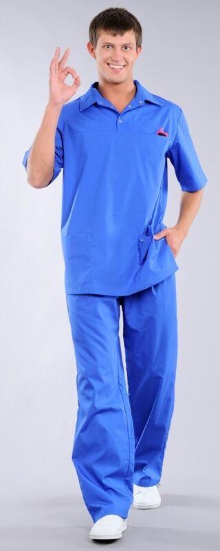 Доктор Стиль Блуза медицинская мужская Интерн (лл2213) - фото 1