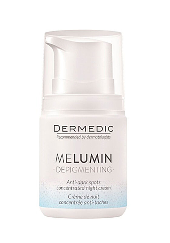 Dermedic Крем-концентрат ночной против пигментных пятен MELUMIN 55г - фото 1