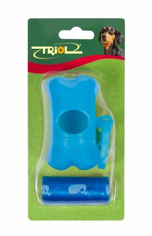 Triol Набор для уборки фекалий с контейнером для пакетов (1 рулон) - фото 1