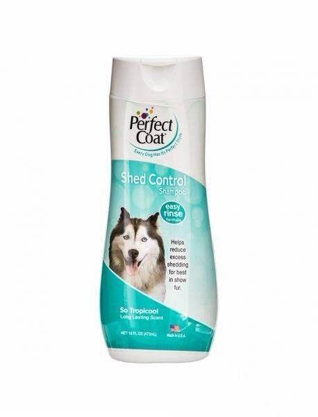 8 in 1 Шампунь для собак PC Shed Control против линьки с тропическим ароматом - фото 1