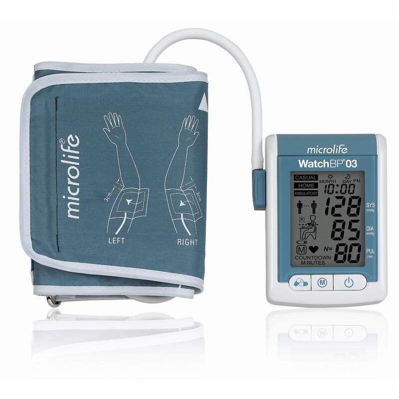 Тонометр Microlife Прибор для измерения артериального давления электронный WatchBP O3 - фото 1